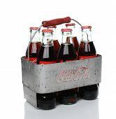 Antique Coke Carrier