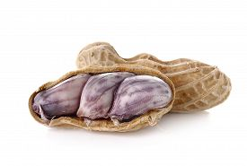 stock photo of ground nut  - peanut nut goober ground - JPG