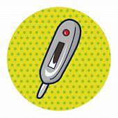 stock photo of fahrenheit thermometer  - Thermometer Theme Elements - JPG