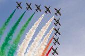 foto of aerobatics  - aerobatic Team performing  - JPG
