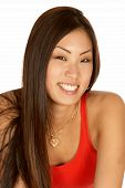 Asian Woman Smiling Headshot