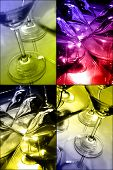 Colour Martini Collage