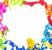Multicolored Ribbon Border