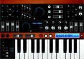 Pro Music Synthesizer / Interface