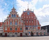 The House Of The Blackheads, Riga, Latvia.