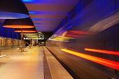 Departing Subway