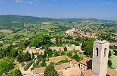 Tuscany From The Torre Grosso