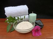 Aromatherapy Spa Facial Materials