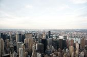 Manhattan From Empire State Building View