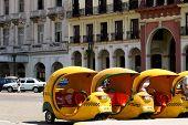 Coco Taxis en Cuba