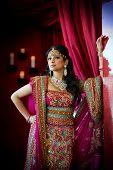 Pé de noiva indiana