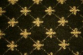 Pattern On Wool Carpet
