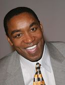 LOS ANGELES - FEB 12: Isiah Thomas at the 'A Tribute to Magic Johnson - The official tip-off to NBA