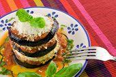 Eggplants Parmigiana
