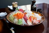 Japanese restaurant plate