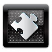 Plugin metal icon