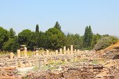 Ruins of a temple of Aphrodite