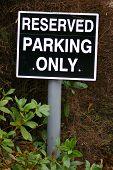Parking Sign 15