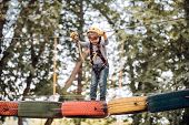 Early Childhood Development. Children Fun. Go Ape Adventure. Children Summer Activities. Toddler Age poster