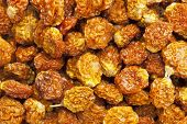 dried goldenberries (physalis peruviana,) , superfruit from Peru rich in antioxidnats, vitamin A, bi