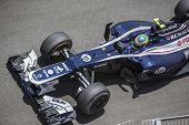 VALENCIA, SPAIN - JUNE 24: Bruno Senna in the Formula 1 Grand Prix of Europe, Valencia Street Circui