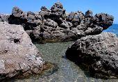 rocks at the sea