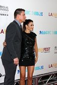 LOS ANGELES - JUN 24:  Channing Tatum, Jenna Dewan Tatum arrives at the
