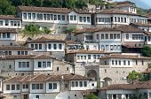 picture of albania  - windows in Berat  - JPG