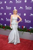 LAS VEGAS - MAR 7:  Maggie Rose arrives at the 2013 Academy of Country Music Awards at the MGM Grand