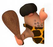 Fun caveman