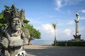 Lovina Bali Main Sqaure Statues