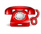 Retro rad telephone