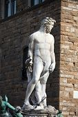 Florence - Sculpture Hercules and Cacus by Bandinelli.