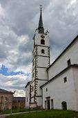 Church in Frymburk, Czech Republic.