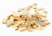 Heap Wooden Domino