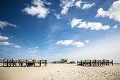 Sandy Beach St. Peter-ording
