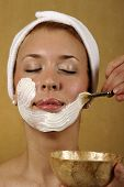 Spa Facial Mask Skin Treatment