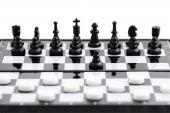 Checkers Against Chess