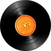 Vinyl Record With Summer Hits