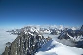 The Dents du Midi in the Swiss Alps