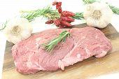 Ribeye Steak With Garlic And Rosemary