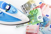 Ironing Euro Money