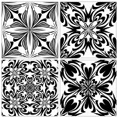 Set of Baroque Tiles