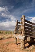 Desert Cattle Chute