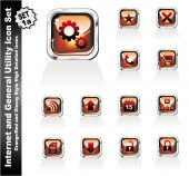 Web And Internet Utility Icons - Set 1A