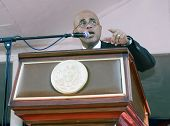 President of Haiti in a public speech