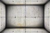 Concrete Industrial Interior Backdrop