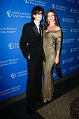 NEW YORK-NOV 21; Model Paulina Porizkova (R) and Ric Ocasek attend American Museum of Natural Histor
