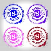 stamp of usa