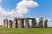 Stonehenge Prehistoric Monument Near Salisbury, Wiltshire, England, Uk